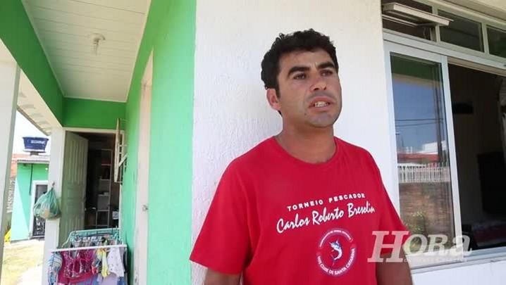 Pescador dos Ingleses, em Florianópolis, conta como encontrou criança argentina perdida no costão