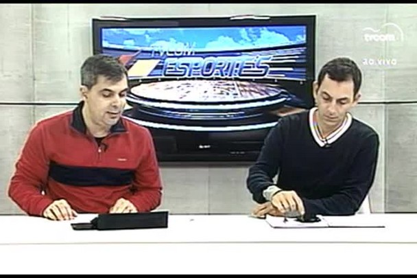TVCOM Esportes. 3º Bloco. 27.05.16