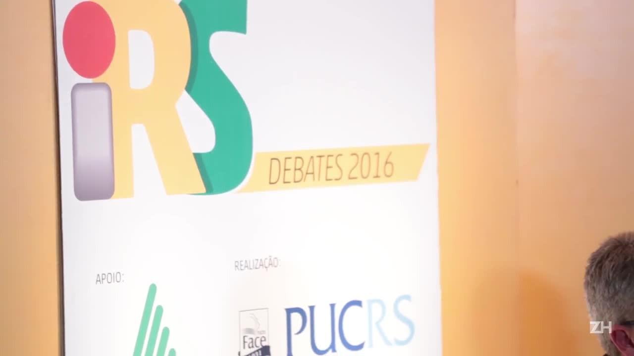 iRS Debates: o impacto da violência no desenvolvimento do RS