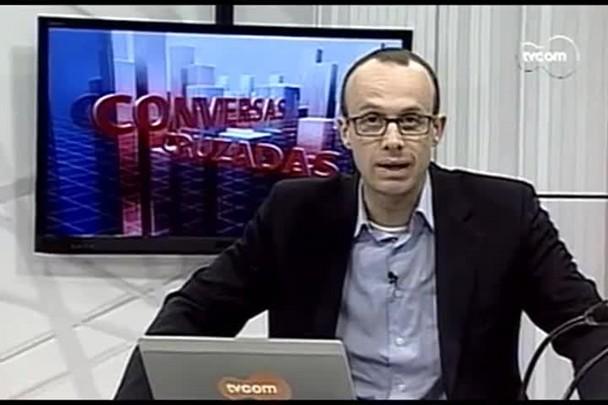 TVCOM Conversas Cruzadas. 4º Bloco. 10.08.16