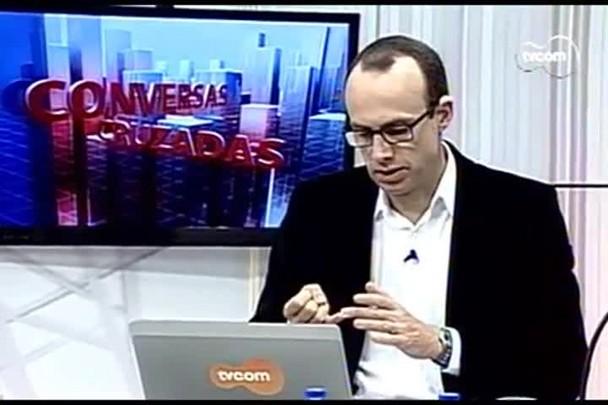 TVCOM Conversas Cruzadas. 3º Bloco. 23.08.16
