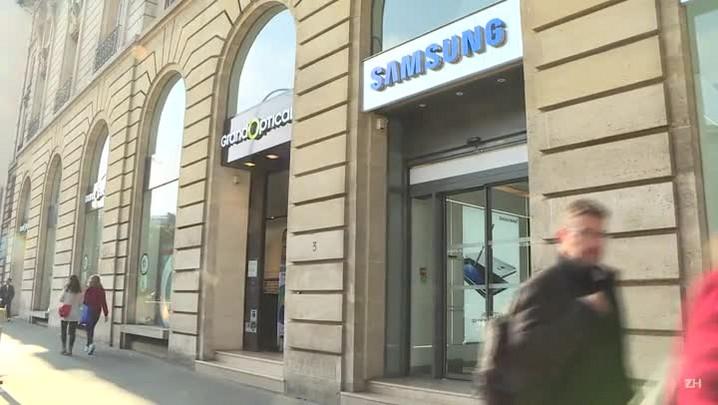 Samsung suspende a produção e venda do Galaxy Note 7