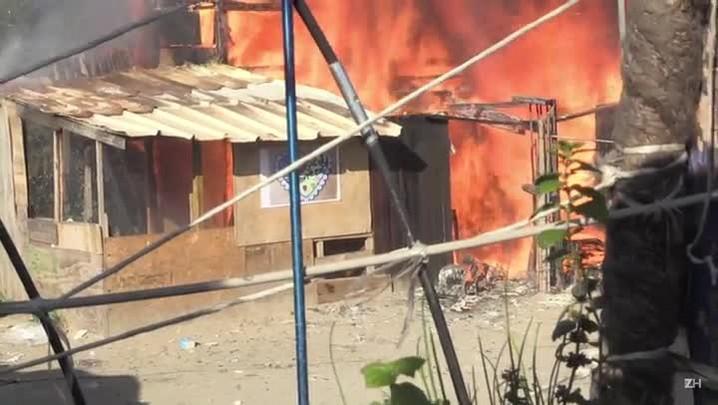 Incêndios em Calais