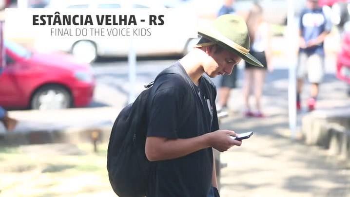 Estância Velha comemora vitória de Thomas Machado no The Voice Kids