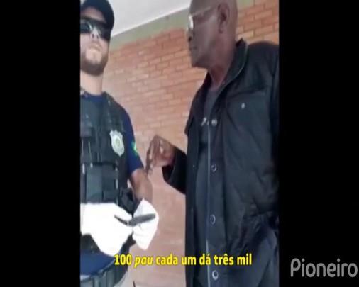 Homem é preso ao tentar subornar policiais em Vacaria