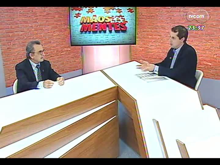 Mãos e Mentes - Sociólogo e filósofo italiano Raffaele de Giorgi - Bloco 4 - 20/01/2013