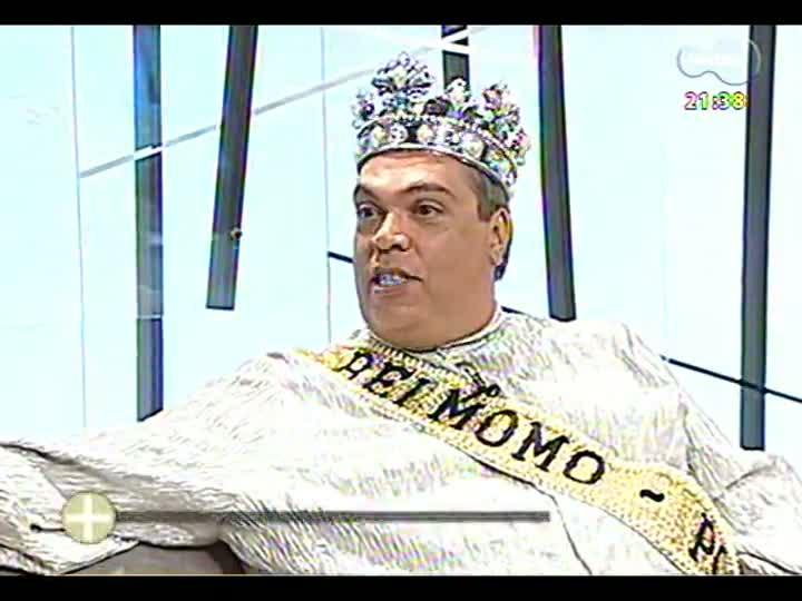 TVCOM Tudo Mais recebe a corte do Carnaval de Porto Alegre