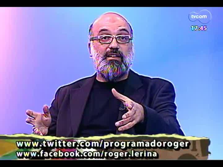Programa do Roger - Entrevista com a artista Ena Lautert - bloco 1 - 18/04/2013