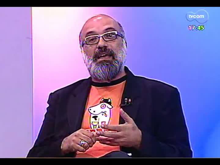 Programa do Roger - Percussionista Reppolho fala sobre seu livro - bloco 1 - 24/04/2013