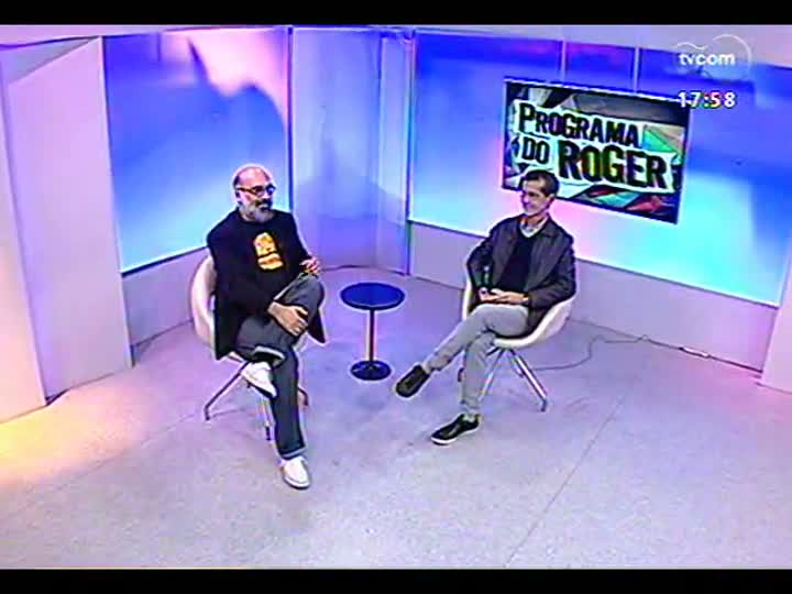 Programa do Roger - Entrevista com o artista plástico José Patrício - bloco 2 - 08/08/2013