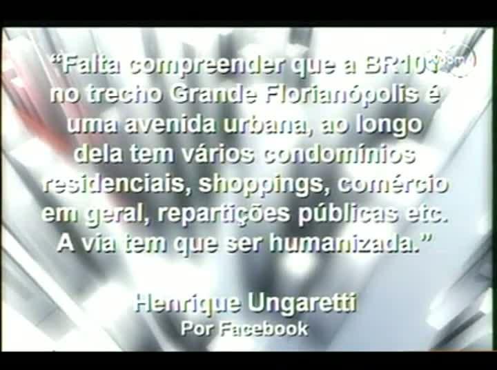 Conversas Cruzadas - Restrição do tráfego de caminhões em Florianópolis - 4º Bloco – 15-08-2013