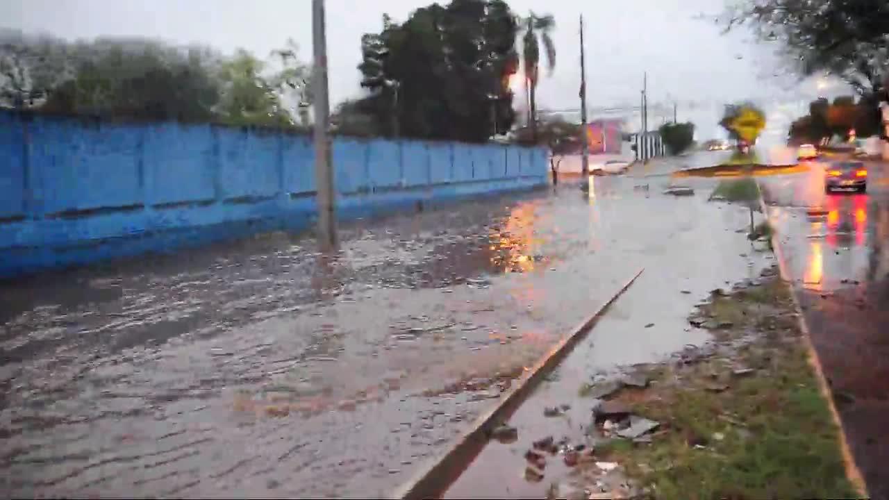 Avenida Liberdade em dias de chuva