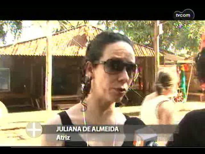 TVCOM Tudo Mais - Cia de teatro Animé foi ao acampamento farroupilha conhecer as tradições gaúchas