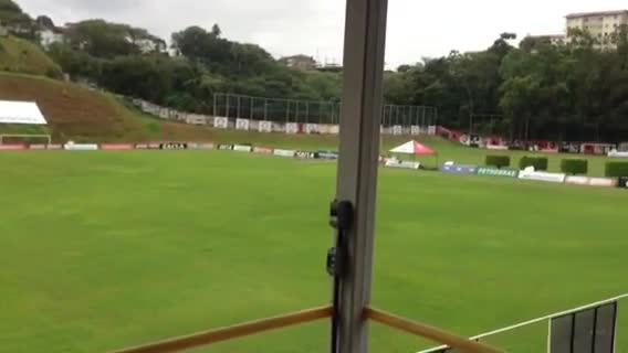 Inter já está na Bahia. 18/09/2013