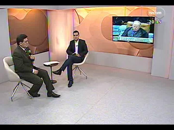 TVCOM 20 Horas - Confira a análise do voto decisivo do ministro Celso de Mello no julgamento do Mensalão - Bloco 2 - 18/09/2013