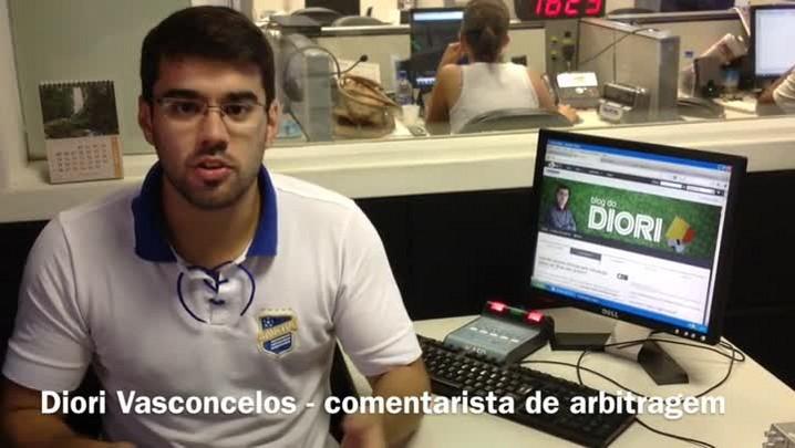 Diori Vasconcelos analisa a arbitragem de Inter x São Luiz. 19/01/2014