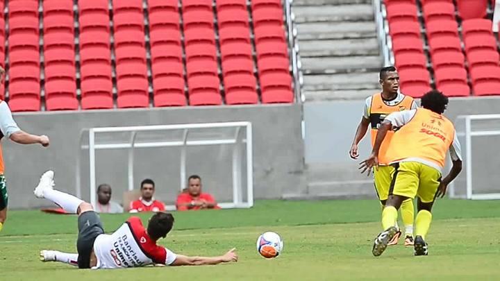 Os bastidores do primeiro jogo-treino no novo estádio Beira-Rio
