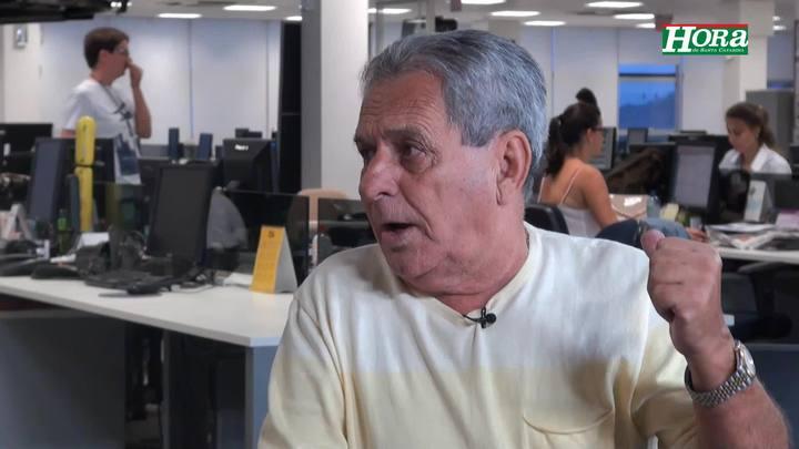 """Dáli Miguel \""""Figueirense tem que jogar mais do que jogou o primeiro turno\"""""""