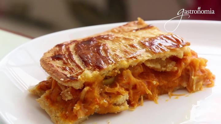 Gastronomia - Receita rápida de empadão de frango