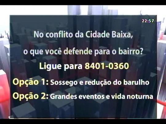 Conversas Cruzadas - O retorno da vida noturna da Cidade Baixa X o sossego dos moradores - Bloco 3 - 14/05/2014