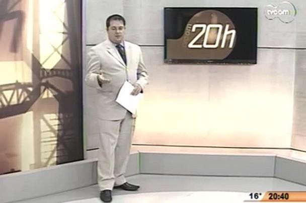 TVCOM 20Horas - Obras Dificultam o Acesso a BR-101 - 11.07.14