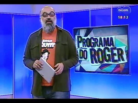 """Programa do Roger - Trailer \""""A Entrevista\"""" + Jéf e banda - Bloco 3 - 23/07/2014"""