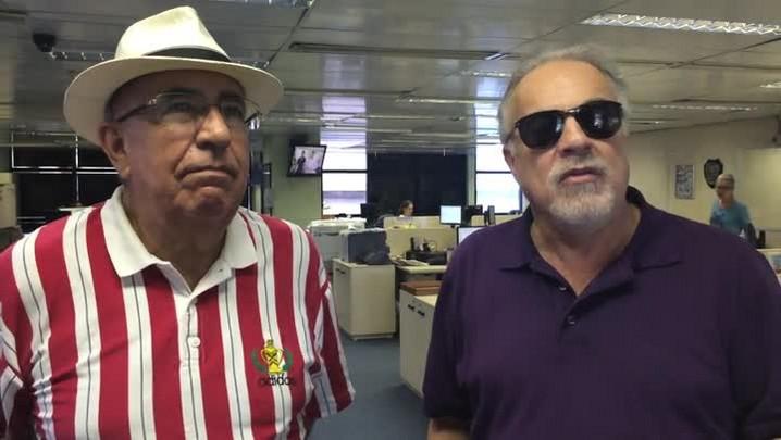 Kenny e Cacalo trocam farpas depois da goleada da Chapecoense sobre o Inter