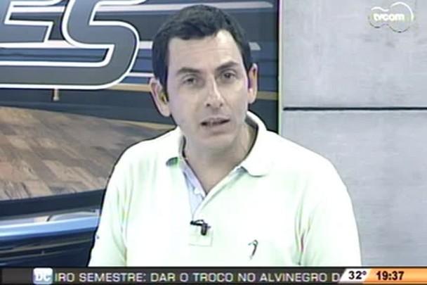 TVCOM Esportes - Presidente do Joinville, Nereu Martinelli, fala sobre situação do atacante Jael - 14.1.15