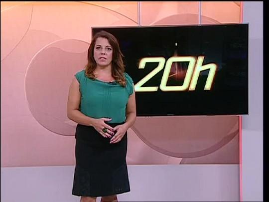 TVCOM 20 Horas - Mais dois ataques a bancos são registrados no Estado - 17/02/15