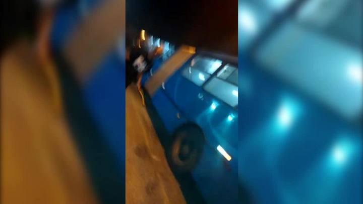 Tentativa de ataque a ônibus é registrada em São José