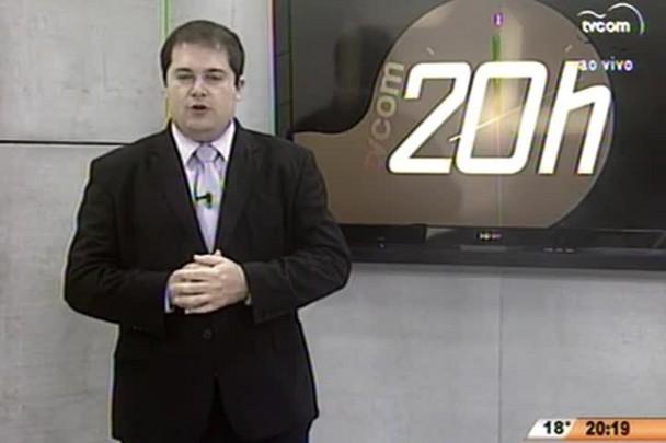 TVCOM 20 Horas - Entrevista com o prefeito de São João Batista, Daniel Netto Cândido - 18.07.15