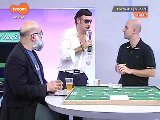 Super TVCOM Esportes - VJ Everaldo Guilherme apresenta cantora revelação \'anônima\'