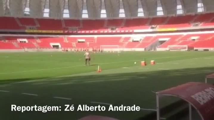 Veja como foi o treino do Inter nesta manhã