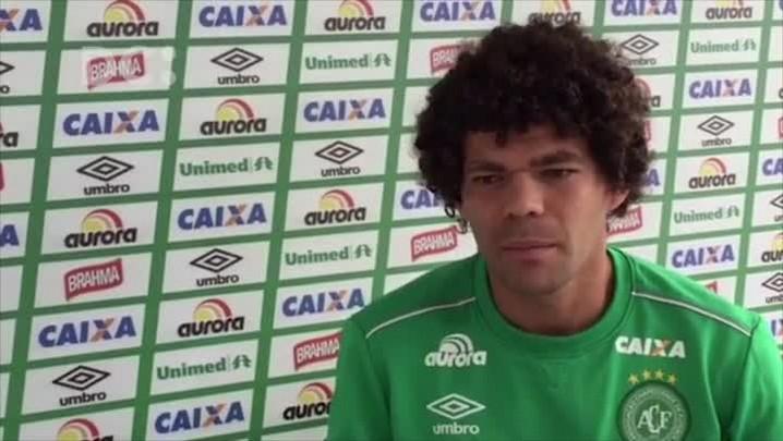Camilo, da Chapecoense, fala sobre o confronto decisivo contra o River Plate