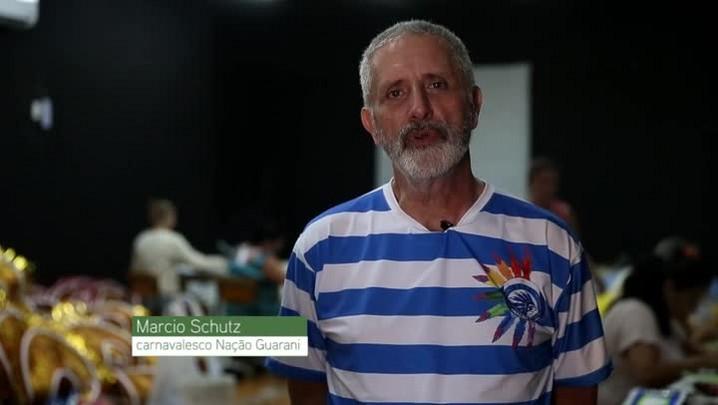 Carnaval 2016: Barracão Nação Guarani