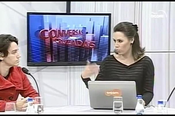 TVCOM Conversas Cruzadas. 2º Bloco. 24.05.16