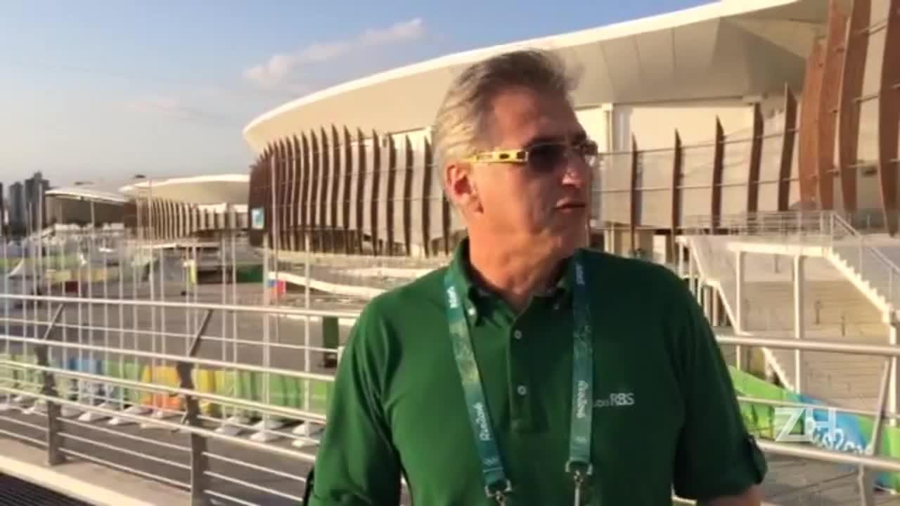 """Paulão: \""""A Olimpíada vai ser um sucesso com certeza\"""""""