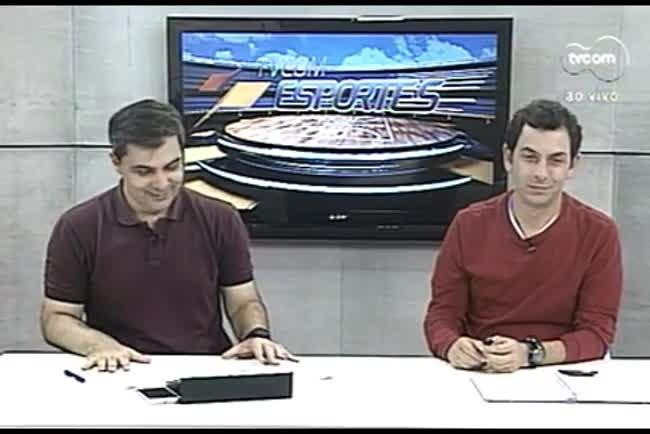 TVCOM Esportes. 3º Bloco. 26.08.16