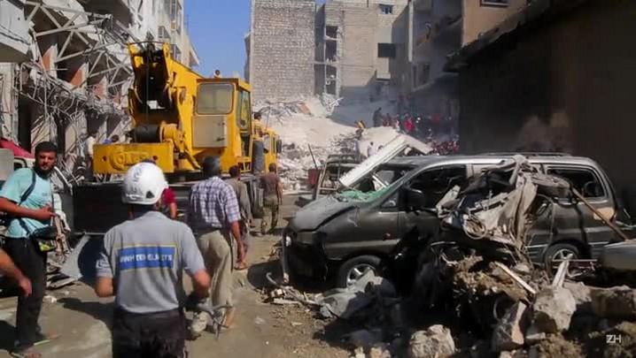 Bombardeios deixam mortos e feridos na Síria