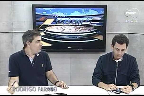 TVCOM Esportes. 1º Bloco. 11.10.16