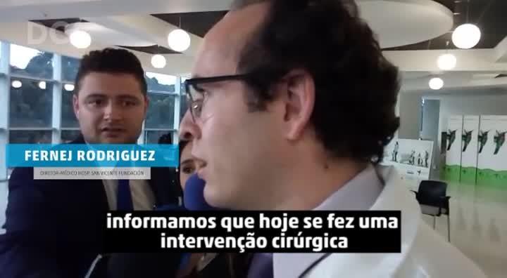 Médico colombiano informa sobre estado do goleiro Jackson Follmann