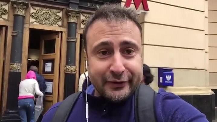 Eduardo Gabardo faz de metrô o caminho até a Praça Vermelha