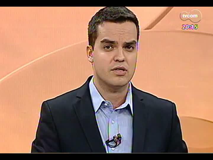 TVCOM 20 Horas - Tarso vai determinar que bombeiros fechem estabelecimentos com alvará vencido - Bloco 3 - 07/02/2013