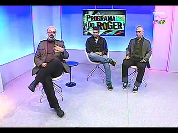 """Programa do Roger - Atores falam do espetáculo \""""Maratona de NY\"""" - bloco 1 - 16/05/2013"""