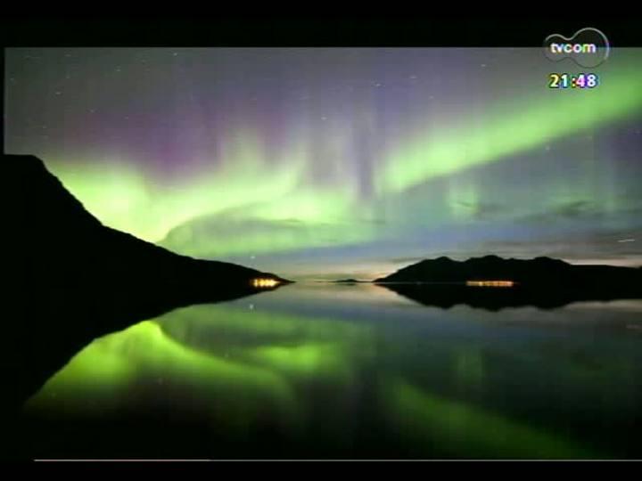 TVCOM Tudo Mais - Saiba como foi a experiência da jornalista que foi acima do Círculo Polar Ártico fotografar a Aurora Boreal
