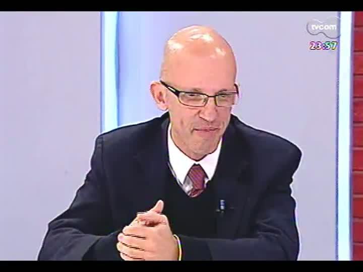 Mãos e Mentes - Mestre em filosofia e diretor da TCA Informática, Marcos Kayser - Bloco 3 - 23/05/2013