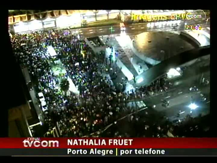 Jornal TVCOM faz balanço das manifestações em Porto Alegre e cidades no interior do Estado - bloco 2 - 24/06/2013