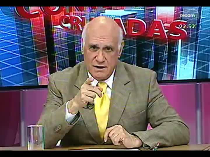 Conversas Cruzadas - Debate a decisão de permitir apenas a torcida do Grêmio no clássico de domingo, na Arena - Bloco 3 - 30/07/2013