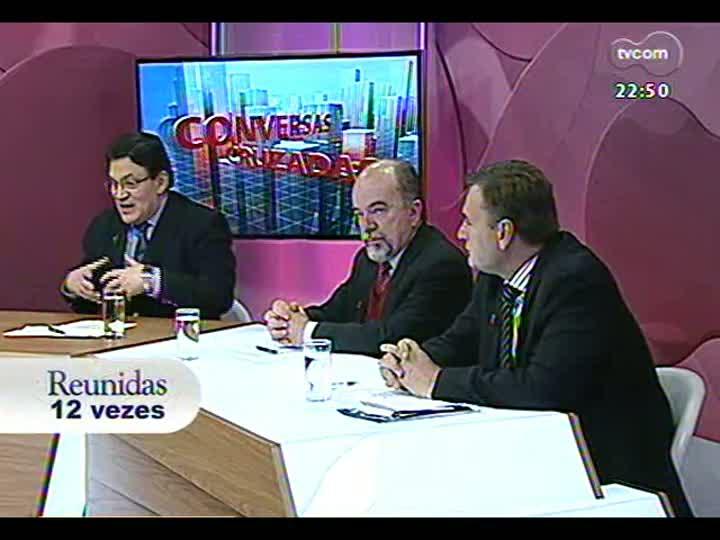 Conversas Cruzadas - Debate sobre o descontrole nos acessos ao sistema de dados sigilosos do RS - Bloco 3 - 13/08/2013