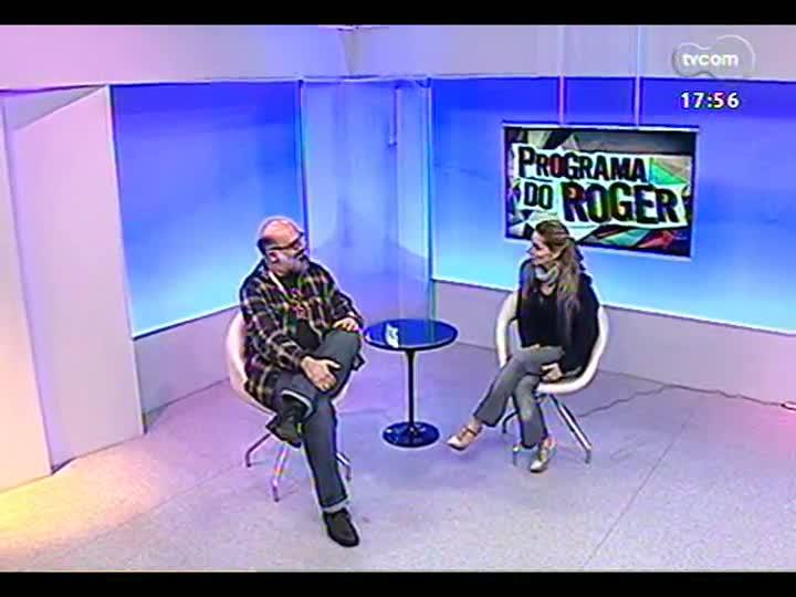Programa do Roger - A bailarina Paula Perillo fala de espetáculo sobre Adoniran Barbosa - bloco 2 - 03/09/2013